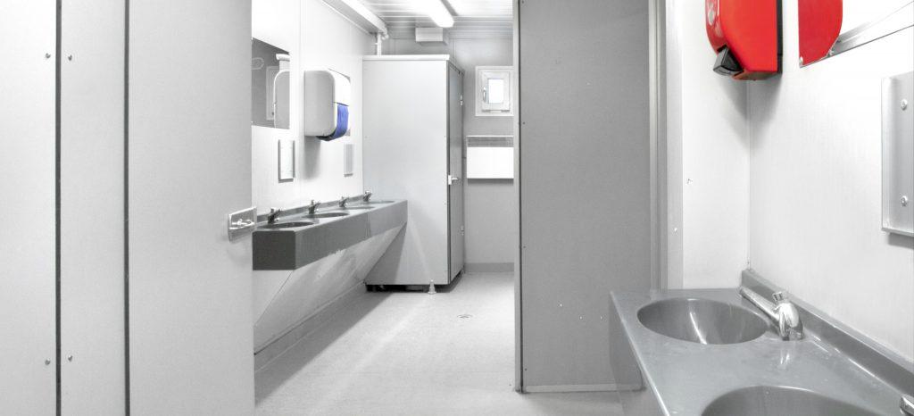 Le bungalow sanitaire